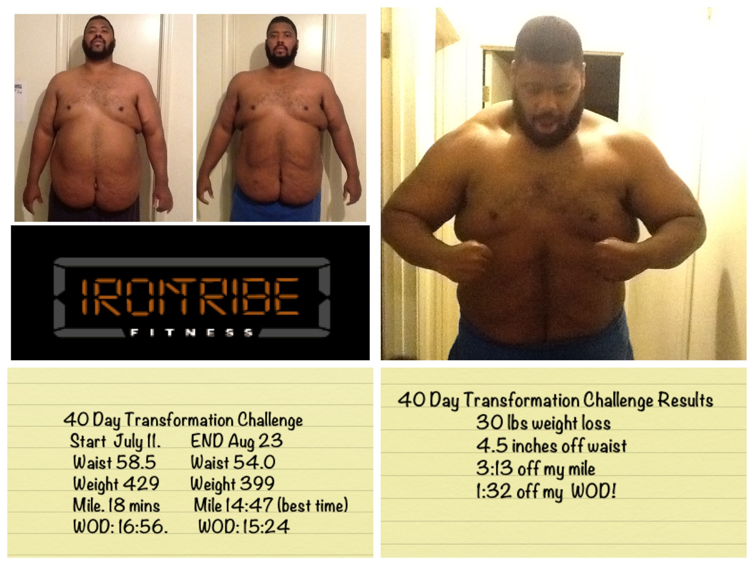40 Day Transformation Challenge Can A 500 Pound Man